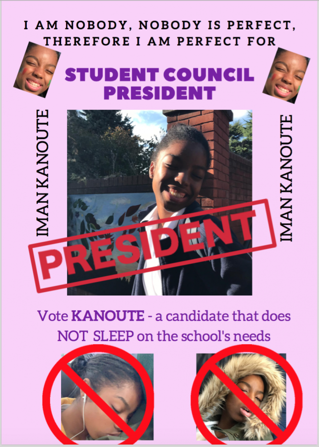 An Interview with Student Council Presidential Candidate Iman Kanoute