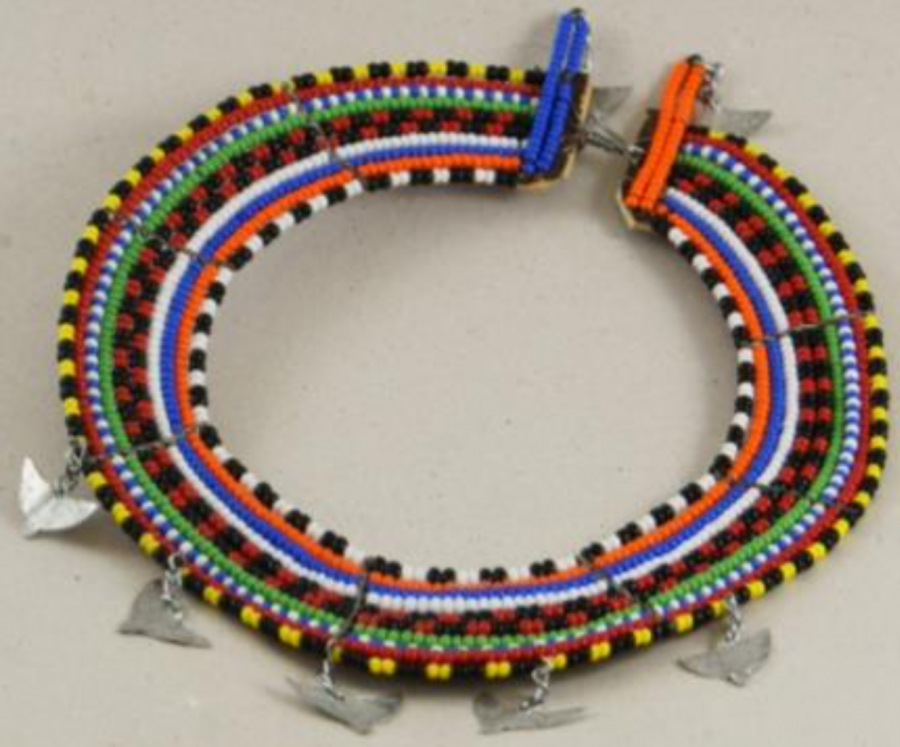 Object+3%3A+Maasai+Tribe+Necklace