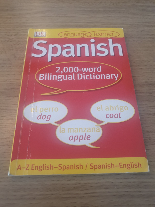 Object 3:  Spanish to English dictionary